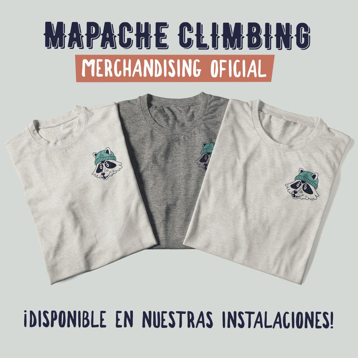 Camisetas Mapache